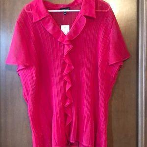 Women's sheer blouse